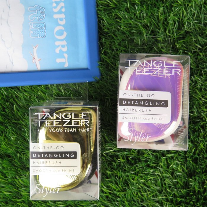 iSport代購 TANGLE TEEZER  英國製專利護髮造型梳  2色 金/粉紫