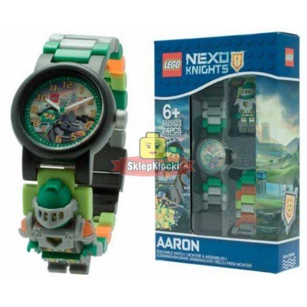 現貨【LEGO 樂高】益智玩具積木/ 未來騎士 NEXO KNIGHTS 艾倫 AARON 人偶手錶公仔 含原廠盒