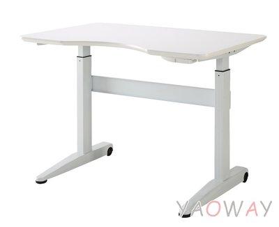 【耀偉】 DR氣壓式升降桌KGT-DR-140-WC (電腦桌/主管桌/辦公桌/書桌)