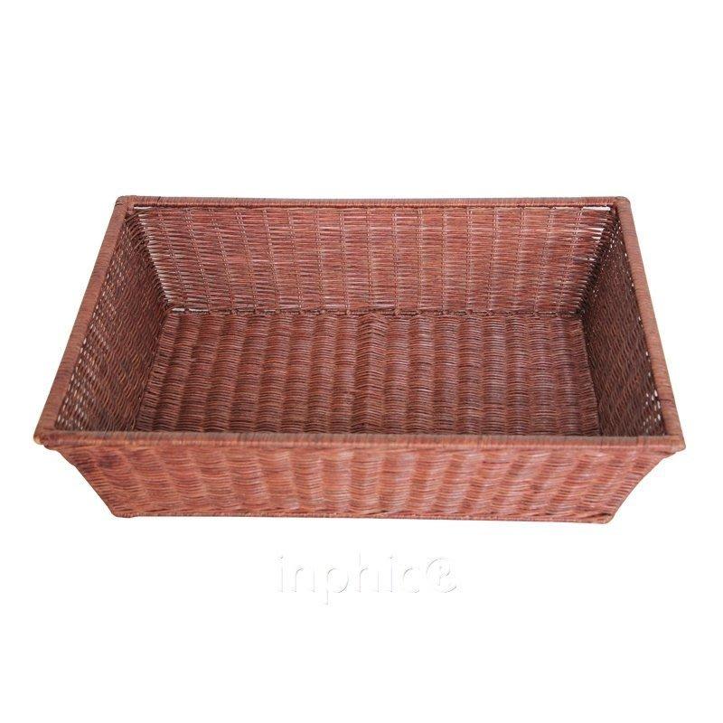 INPHIC-竹藤編麵包託盤食品收納箱果蔬收納竹籃竹筐收納籃大號藤制收納筐