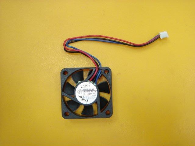 【全冠】ADDA 超靜音顯卡風扇 4*4*1公分DC12V0.08A.3線.AD0412MS-G76(VN1846》