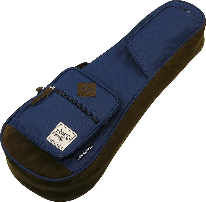 《小山烏克麗麗》Ibanez POWERPAD 原廠 23吋 烏克麗麗袋 琴袋 15mm厚 單背帶 深藍 IUBC541