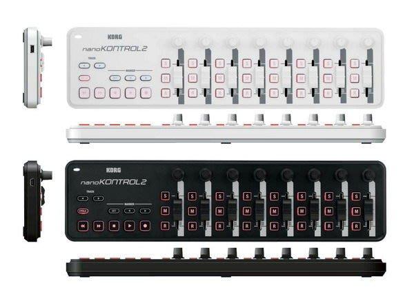☆ 唐尼樂器︵☆ KORG nanoKONTROL2 USB MIDI 控制器(黑/白兩款)(另有 nanoPAD2 nanoKEY2 上架中)