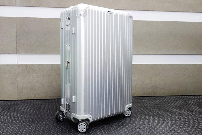 【台中青蘋果】德國 RIMOWA TOPAS 中大型四輪旅行箱 E-TAG 924.73.00.5 #18771