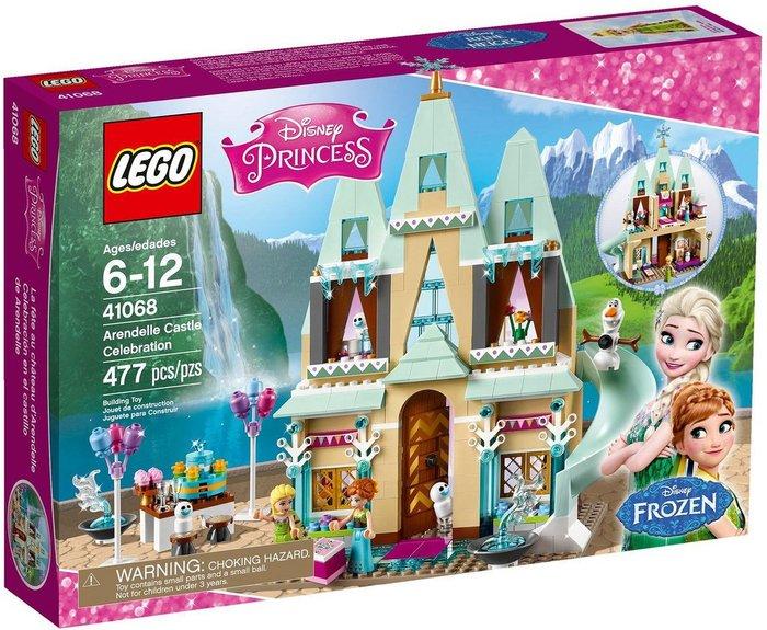 現貨【LEGO 樂高 】全新正品 益智玩具 積木 / 公主系列: 艾倫戴爾城堡慶典 41068 冰雪奇緣 艾莎安娜雪寶