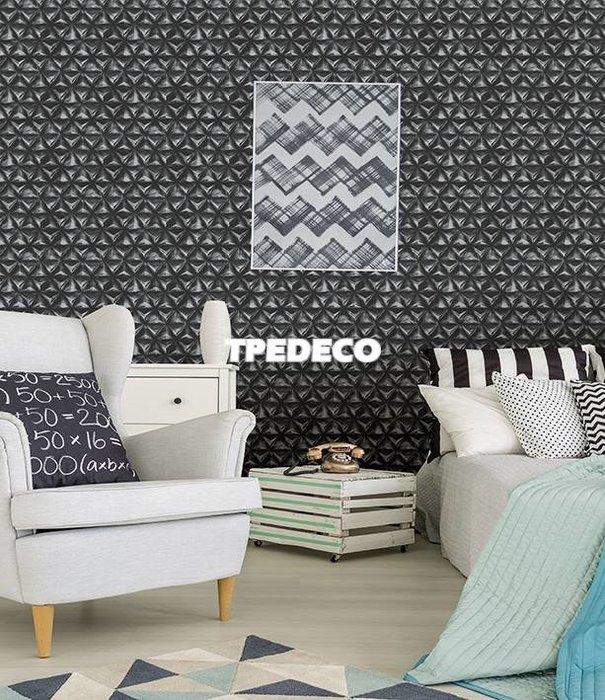 【大台北裝潢】PT馬來西亞現貨壁紙* 環保建材 光滑表面 幾何(3色) 每支580元