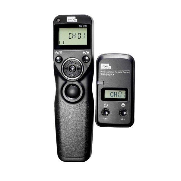 品色 Pixel TW-283 無線電液晶 快門遙控器 縮時攝影 定時 快門線 TW-283/S1 SONY