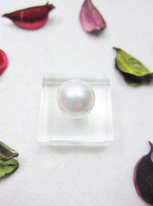 15mm 圓形珍珠裸珠【元圓珠寶】