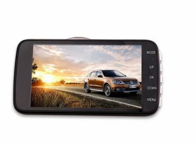 4吋大鏡頭 行車記錄器E85 高清夜視 雙鏡頭 1080P 金屬行駛記錄儀 倒車影像 4365