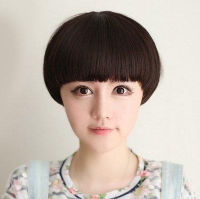 水媚兒假髮7M099♥新款女士假髮 可愛西瓜頭 齊瀏海鮑伯頭 ♥ 現貨或預購 團購批發