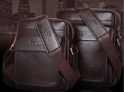 保羅男包新款單肩包男斜挎包包男士包包休閒商務斜跨背包