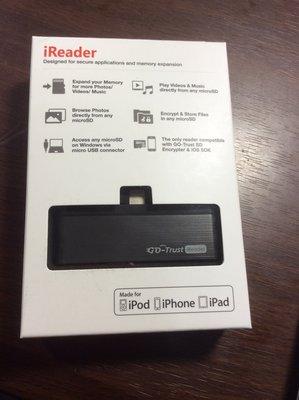 原廠正品 動信科技 Go-Trust iReader iOS MicroSD 讀卡機 專用於iPhone iPad