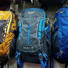 60226 WILLPOWER 網背架優質防水尼龍行山背囊 Backpack