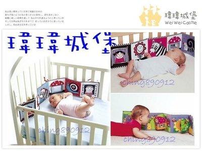 ♪♫瑋瑋城堡✲玩具出租♪♫ Tiny Love 寶寶第一本親子黑白與彩色布書(F) 可租日約05/10日起