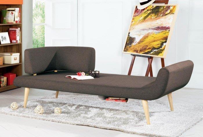 【DH】商品貨號G716-2商品名稱《絲凱》造型休閒沙發(圖一)備有草綠色可選。骨架實木/腳座實木。主要地區免運費