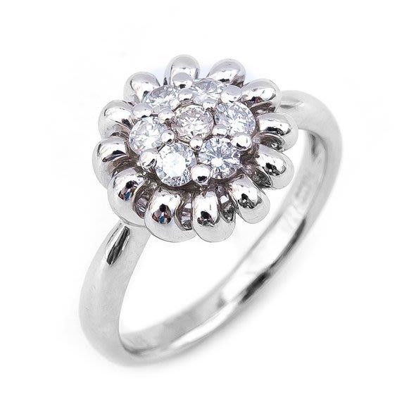 【JHT 金宏總珠寶/GIA鑽石專賣】0.45ct天然鑽石造型戒指/材質:PT900(JB25-A32)