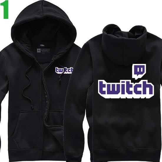【Twitch】連帽厚絨長袖創意設計主題外套(共5種顏色可供選購) 新款上市購買多件多優惠!【賣場一】