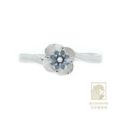 【JHT 金宏總珠寶/GIA專賣】婚戒/鑽戒 女鑽石戒台 (不含搭配主鑽) JRB017