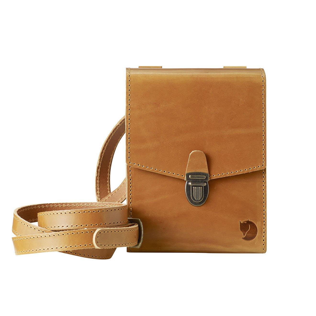瑞典Fjallraven小狐狸/北極狐Singi Bino Bag全皮革側背包 隨身包 護照包 工具袋 腰間包 小側袋