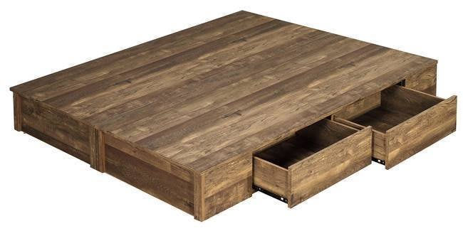 【DH】貨號D94-3名稱《班克》工業風5尺六分木心板四抽置物床底(圖一)備有3.5尺可選.台灣製可訂做.主要地區免運費