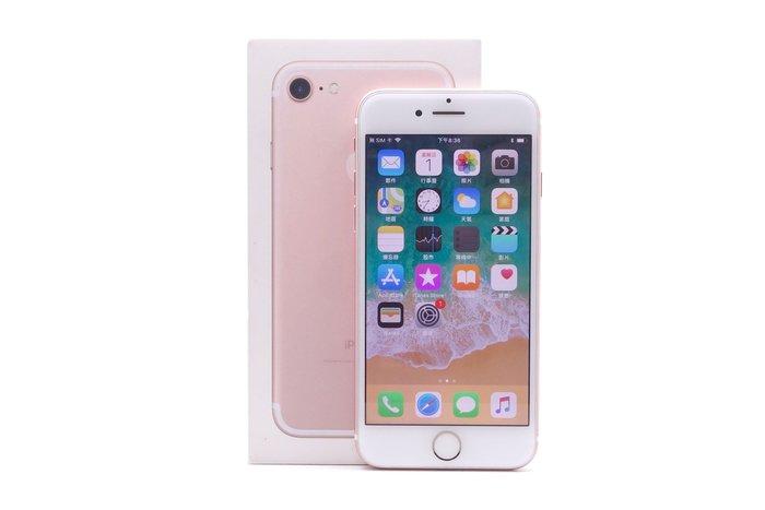 【台中青蘋果】Apple iPhone 7 玫瑰金 256G 256GB 二手 4.7吋 蘋果手機 #26046