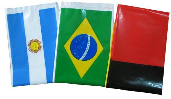 開心運動場- 充氣式國旗加油棒2入/組   (2014巴西世足賽  SBL職棒  比賽選舉造勢 )