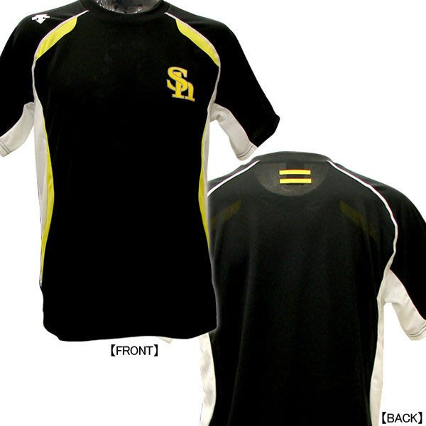 貳拾肆棒球-日本帶回日職棒軟銀鷹選手實際使用練習衫/Descente製作