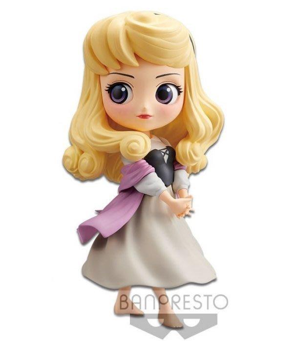 【一手動漫】日本 正版 代理 景品 Qposket 迪士尼 Q posket 公主 睡美人 奧蘿拉 特殊色 稀少 淺色