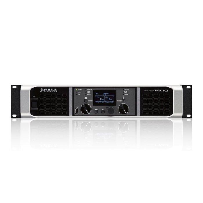 【六絃樂器】全新 Yamaha PX10 數位功率擴大器 / 舞台音響設備 專業PA器材