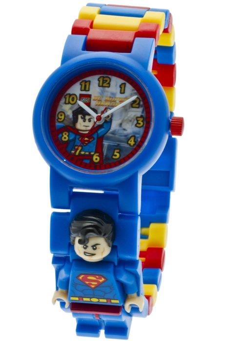 即將完售~【LEGO 樂高】全新現貨/ 超人手錶 DC英雄聯盟 Superman 人偶手錶 公仔 含原廠盒 限量特價中
