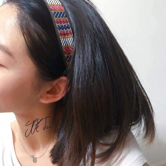 JOE deco▫️手作寬版名族風髮帶 買1送1