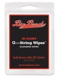☆ 唐尼樂器︵☆美製 Big Bends String Wipes 民謠吉他/電吉他/ Bass 琴弦清理布(光頭喬愛用推薦)