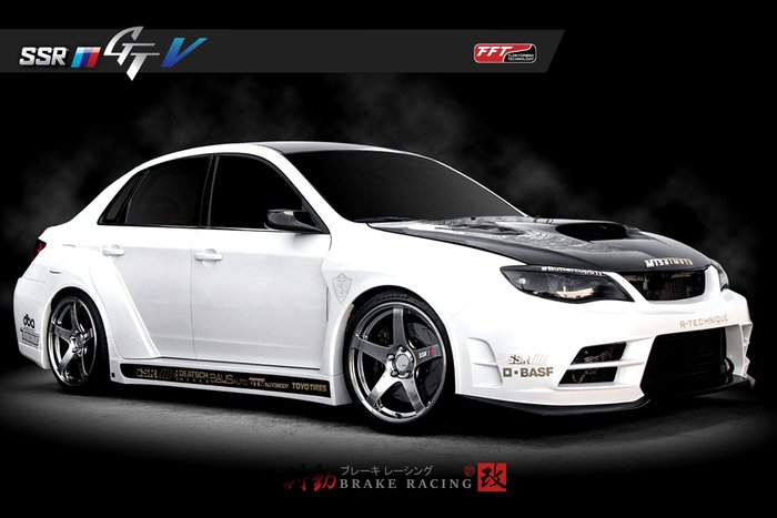 SSR GT V01 鑄造鋁圈 TOYOTA/LEXUS/ 歡迎詢問 / 制動改