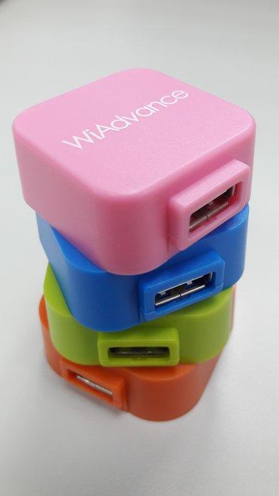 活動禮品換現☆USB擴充插槽☆HI-SPEED USB2.0 4-PORT HUB☆一對四