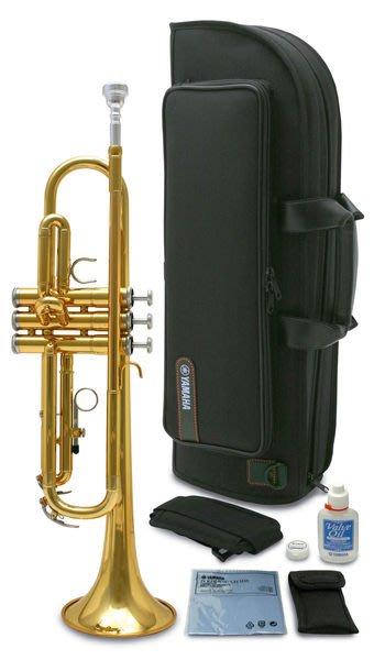 【六絃樂器】全新 Yamaha  YTR-2330 CN 金漆小號 / 現貨特價