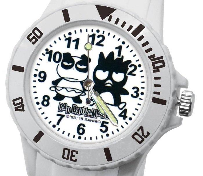 41+ 現貨免運費 三麗鷗 SANRIO 正版授權 酷企鵝 白色 日本機芯 童趣卡通錶 兒童錶 小日尼三