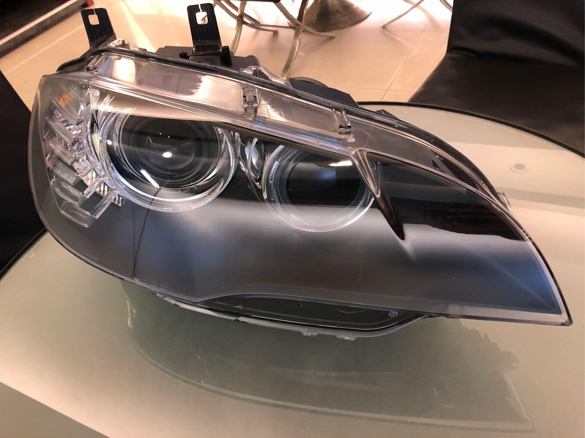 BMW X6 原廠 大燈 頭燈 右邊
