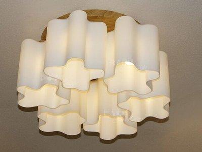 ~捷森照明~JA-C-00196~雲 朵 吸 頂 燈~6 燈