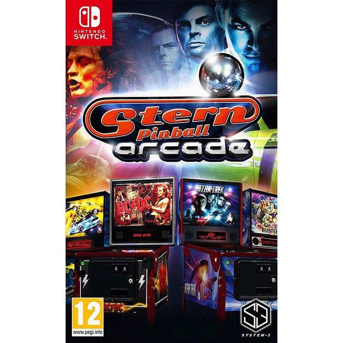 全新未拆 NS Stern街機彈珠台 11合一合輯 英文版 Switch Stern Pinball Arcade 彈子