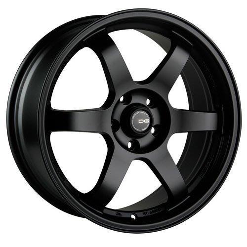JD-MOTORS DG07 17吋 / 18吋輪圈 黑色/古銅 5/114 5/108 經典小凹六幅設計