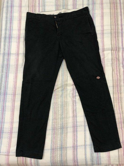 201801-10-丹寧黑色長褲