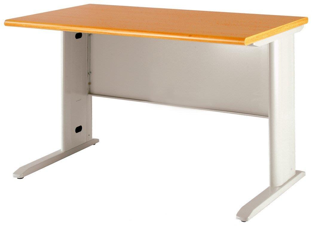 木紋色CD辦公桌.職員桌.電腦桌寬160*深70/ 082-19
