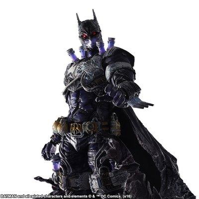 【紫色風鈴3.3】PLAY ARTS改DC漫畫惡棍系列急凍人蝙蝠俠可動盒 港版