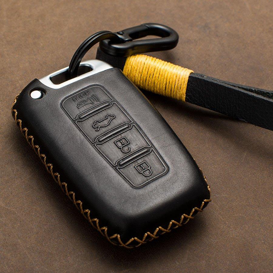 Hyundai 韓國現代 鑰匙 皮套 SANTA FE IX45 ELANTRA Tucson IX35 汽車 鑰匙包