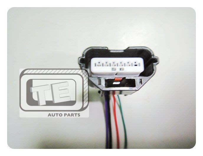 【TE汽配通】MAZDA 福特 豐田 ALTIS VIOS CAMRY 空氣流量器插頭 5P 正廠件