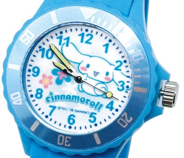41+ 現貨免運費 三麗鷗 SANRIO 正版授權 大耳狗 藍色 日本機芯 童趣卡通錶 兒童錶 運動錶 小日尼三