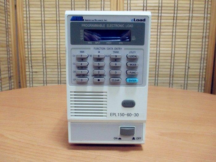 康榮科技二手儀器領導廠商AMREL EPL150-60-30 150W 60V 30A Electronic Load