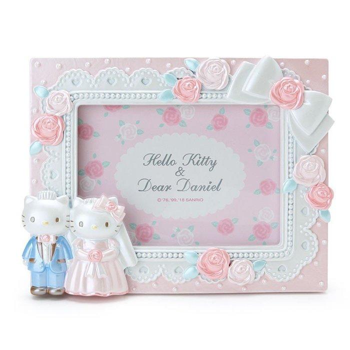 41+現貨免運不必等 Hello Kitty 丹尼爾 日本限定 結婚 相框  婚禮飾品 送禮自用皆宜 小日尼三 批發零售