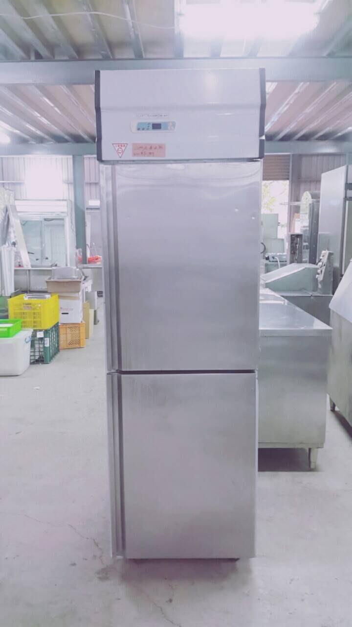 達慶餐飲設備 八里展示倉庫 二手商品 双門冷凍直立式冰箱