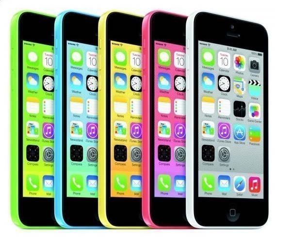 免運+送行動電源+清水套+鋼化膜 Apple iPhone 5C 32G 智慧型手機 800萬畫素 多色可選